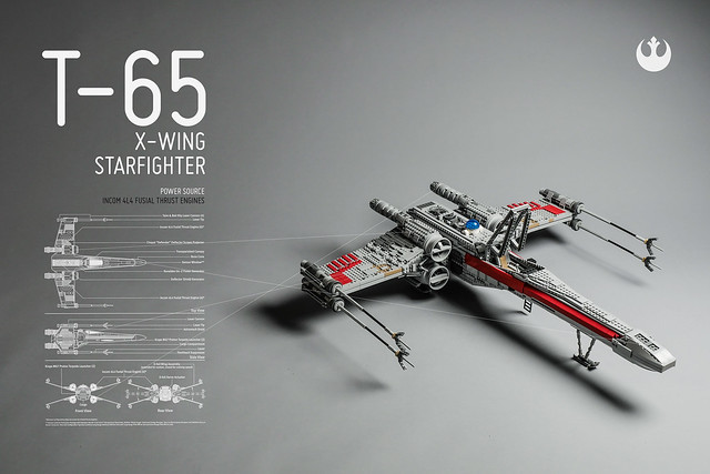 X-wing wallpapers LEGO Star Wars