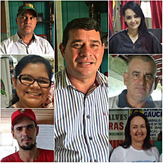 Prefeito eleito de Rurópolis define secretariado só com nomes do município, Prefeito e secretários de Rurópolis