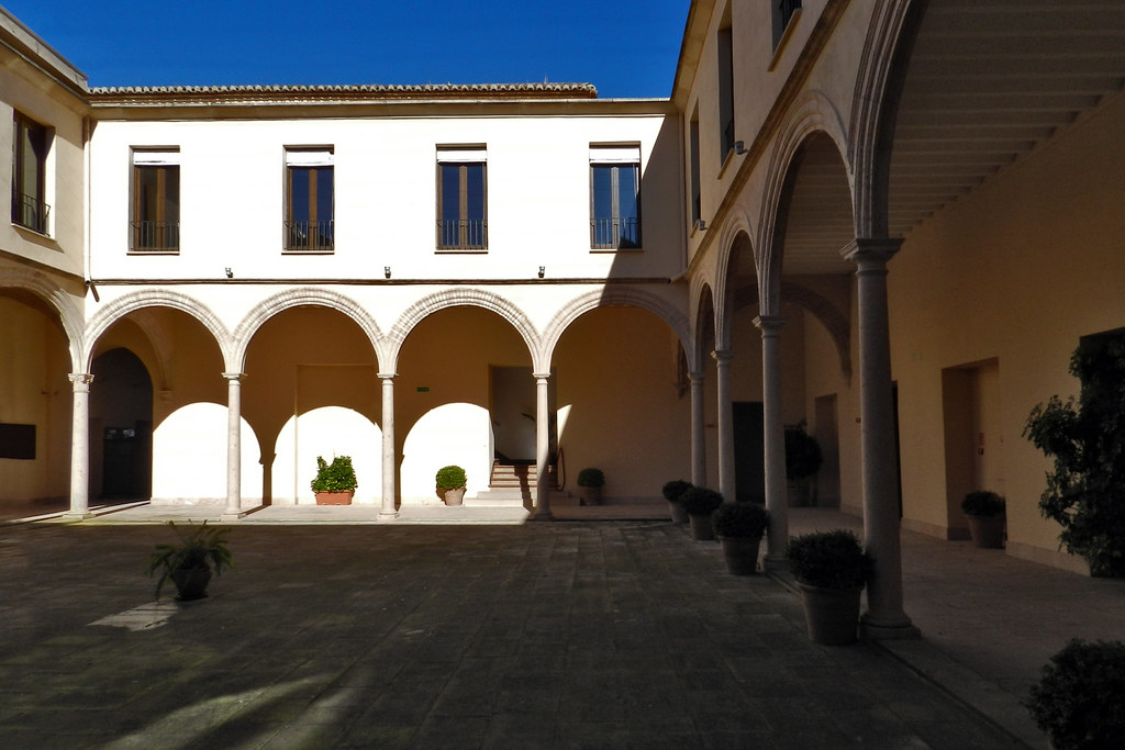 Claustro Convento Santo Domingo Ronda Malaga 11