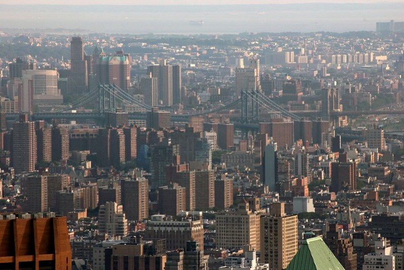Manhattan fra The Top of the Rock