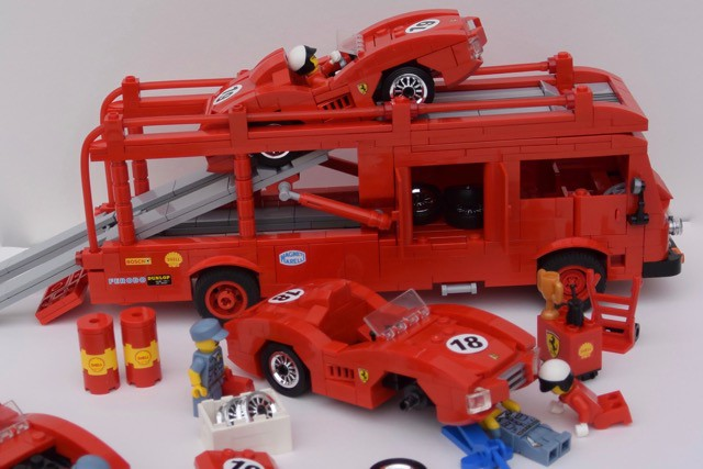 #Lego #Ferrari racing team from the fifties