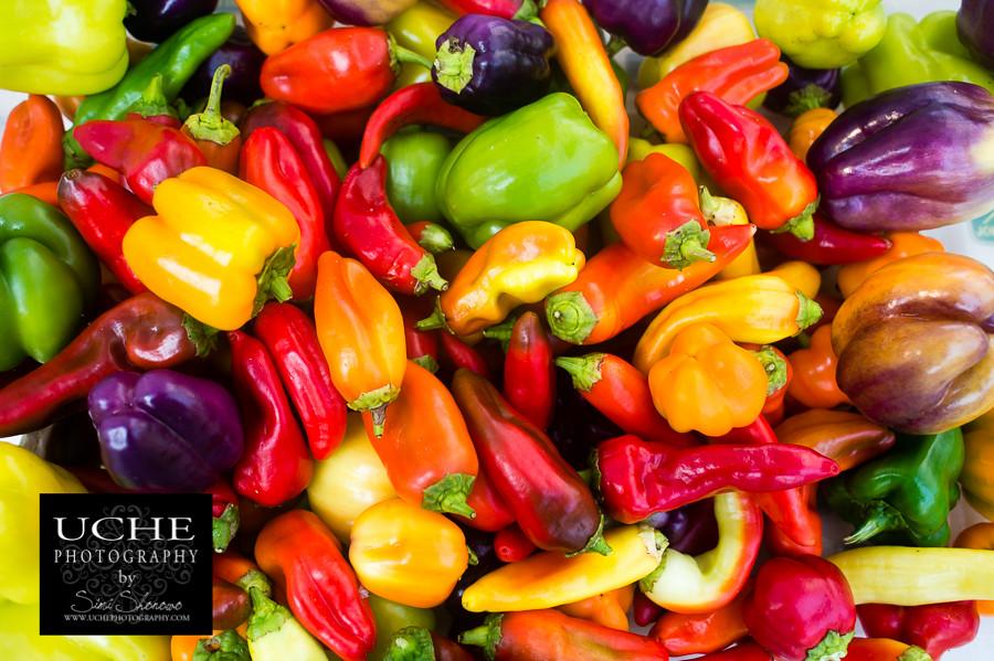 pepper colored