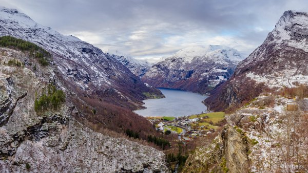 Panoramic View of Geirangerfjod - Geiranger, Norway.jpg