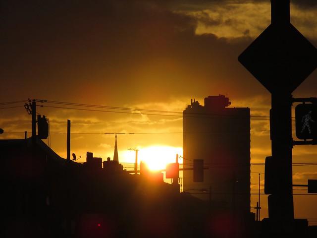 The Sun Rises on Washington Avenue