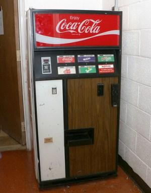 1972 Coke Machine | A Coke machine I repaired at a church I … | Flickr