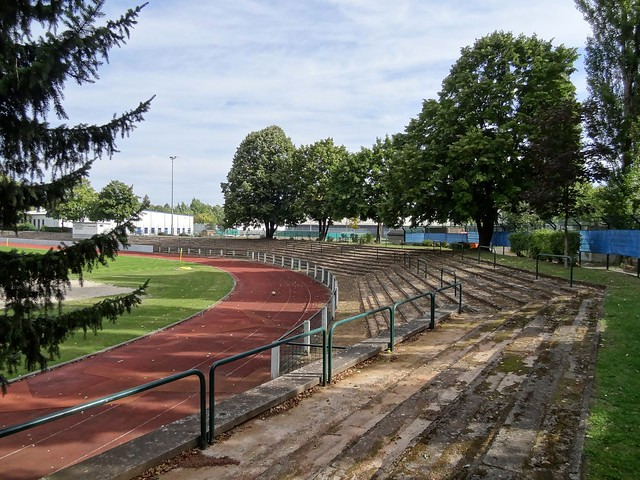 Preußenstadion: home of Berliner FC Preußen.