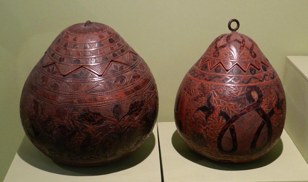 mate burilado Museo Banco Central de la Reserva Arte Popular Lima Peru 32-39