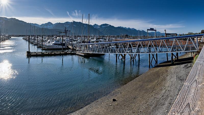 Im Hafen von Seward