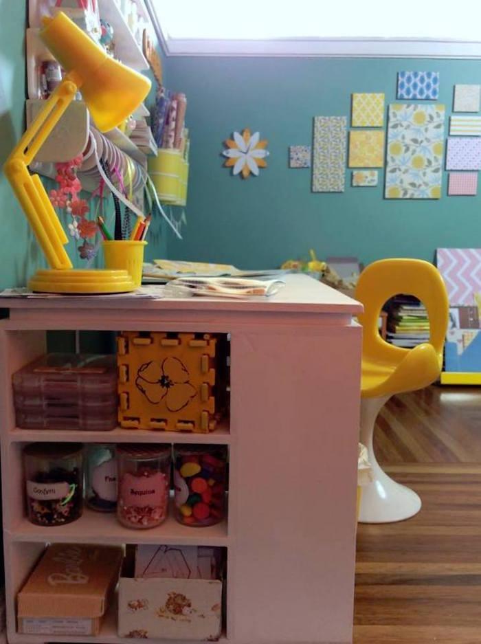 Homemade Parties DIY Party _Miniature Craft Room13