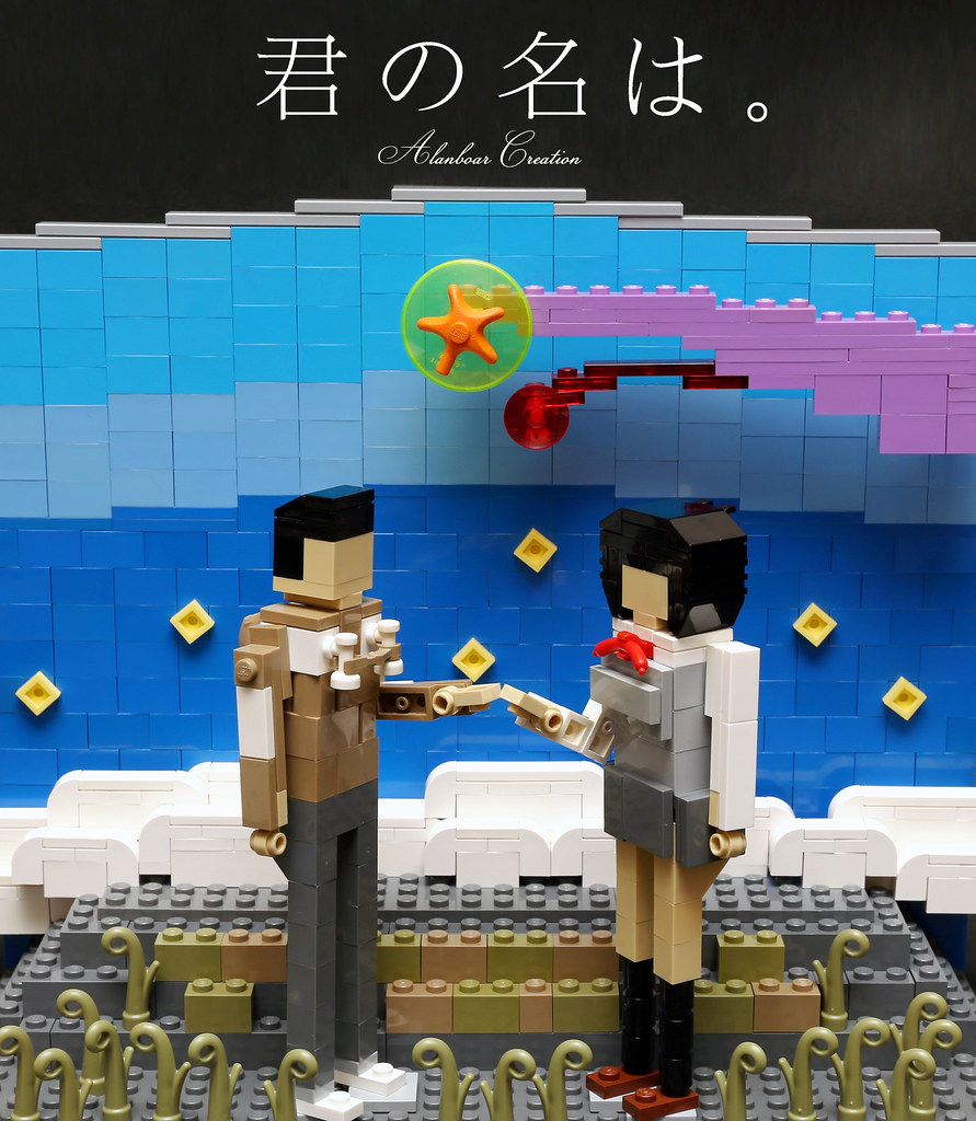 LEGO Your Name                                                                  Your Name  is a 2016     by alanboar LEGO Your Name                                  by alanboar