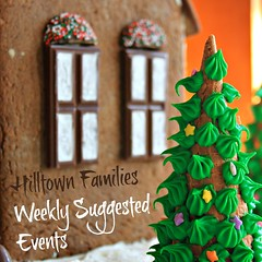 """""""Hilltown Families has been our family go-to place to know what's going on in the community and find the fun… Most recently we had a chance to start listening to the radio show for children. We played the Hanukah show over and over and [they] BOTH loved it. As did I. Thank you so much!"""" – Liz Friedman (Northampton, MA)"""