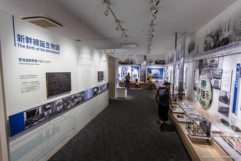 Exposición 50 años del shinkansen-8