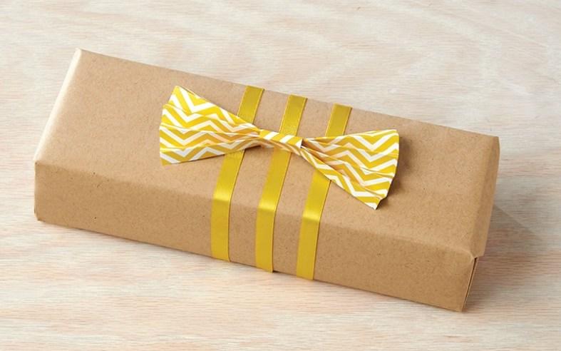 Yellow Fan Bow