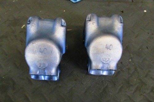 Calipers Showing Anodized Blue Fading