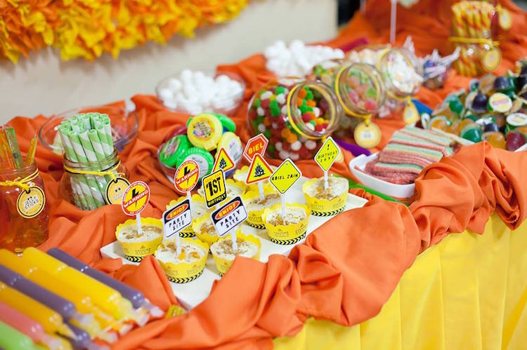 Homemade Parties DIY Party _Construction Themed Party11