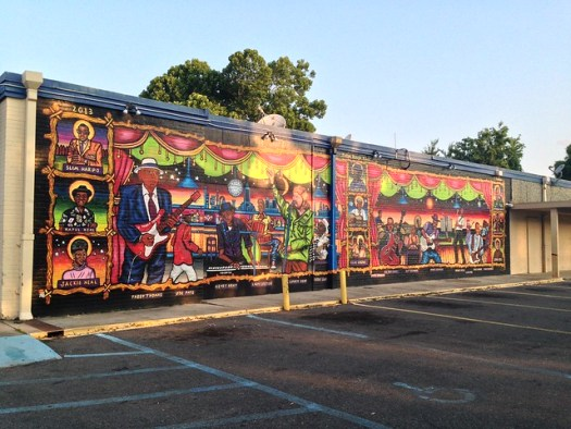 Baton Rouge Blues Mural