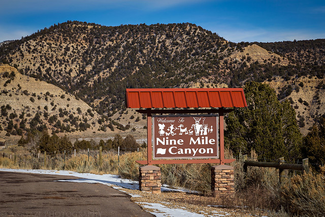 Welcome to Nine Mile Canyon