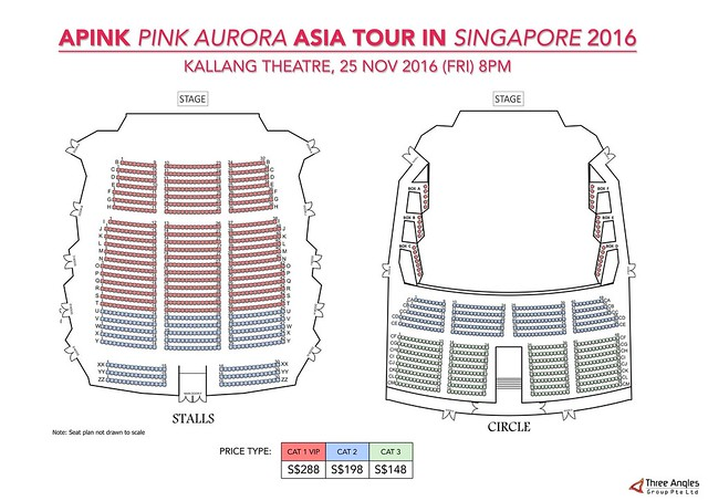 Apink Aurora in Singapore Seating Plan