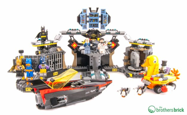 LEGO Batman Movie 70909 Batcave Break-in [Review] | The Brothers ...