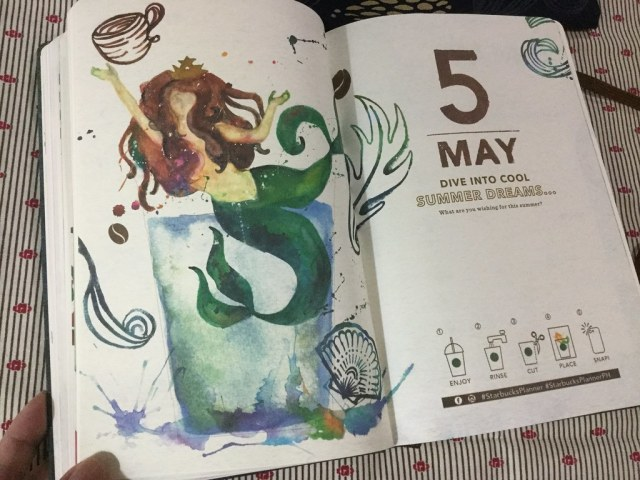 Monthly action page - May