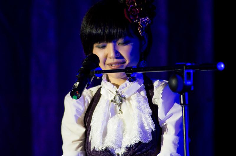 Mika Kobayashi en concierto en Mangamore 2016