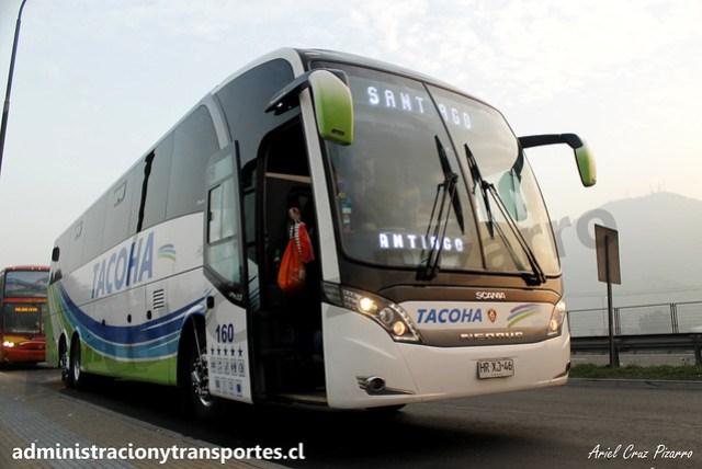 Buses Tacoha | San Bernardo (Cruce Colón) | Neobus New Road N10 380 - Scania / HRXJ46 - 160 Vanidosa