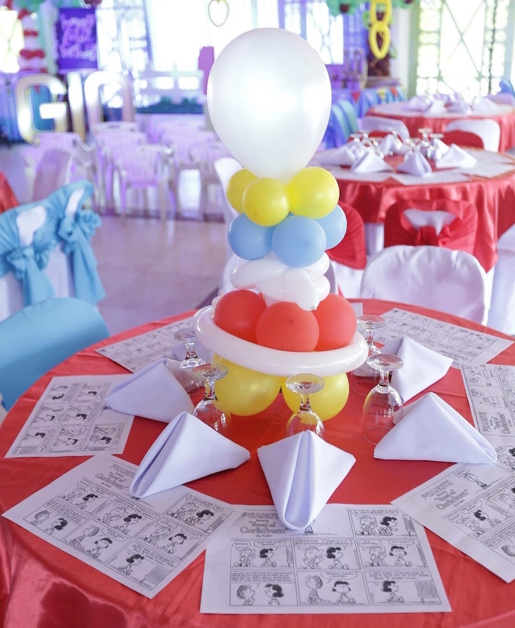 Homemade Parties DIY Party _Snoopy Party03