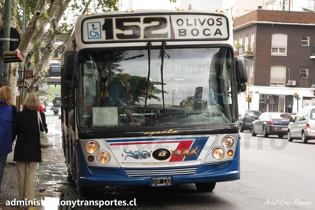 Buenos Aires 152 | Tandilense | Ugarte - Mercedes Benz / GRS132