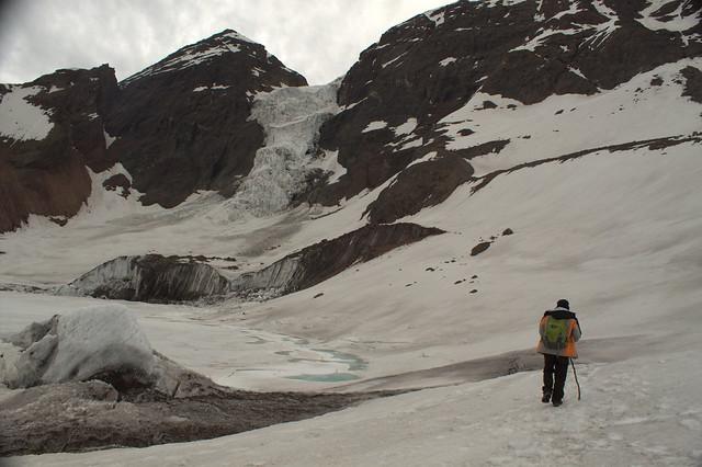 Ariel Cruz & Glaciar El Morado