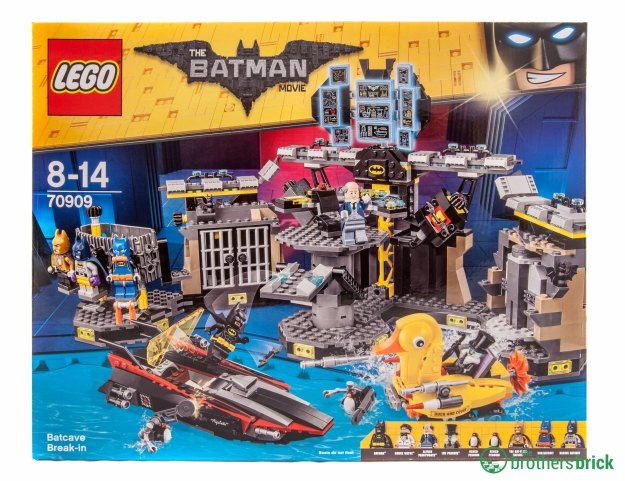 Lego Batman Movie 70909 Batcave Break In Review The Brothers