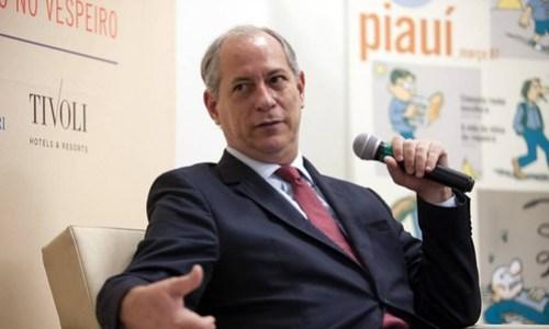 Plano B para presidente em 2018 do PT pode ser Ciro Gomes, do PDT, Ciro Gomes