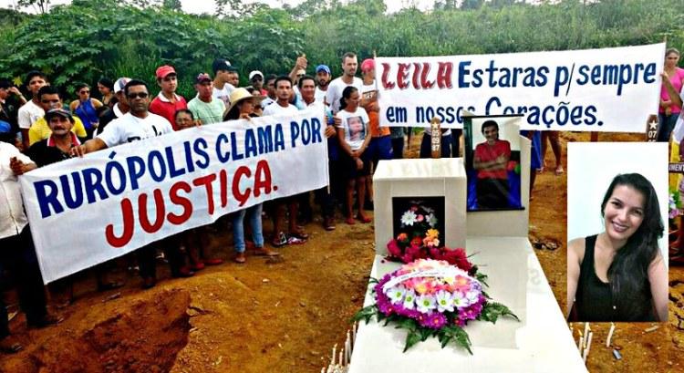 Quem matou Leila? Crime faz 5 meses e PT não descarta assassinato político, assassinato em Ruropolis