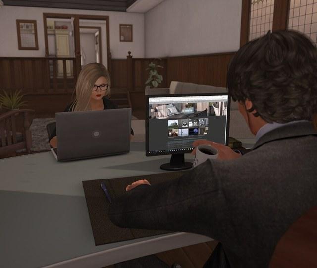 Dutchie Second Life Femdom And Maledom Desk Typing By Dutchie Design