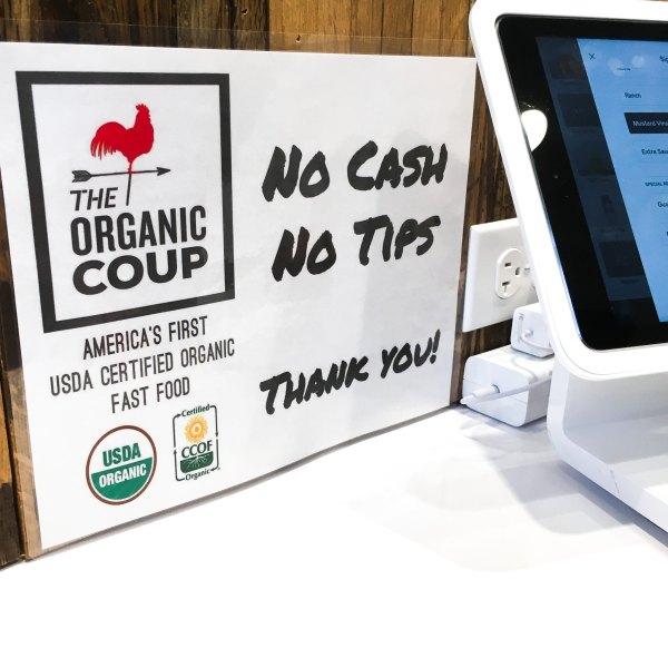 No Cash, No Tips