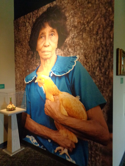 Clementine Hunter Exhibit at Louisiana State Museum, Baton Rouge LA