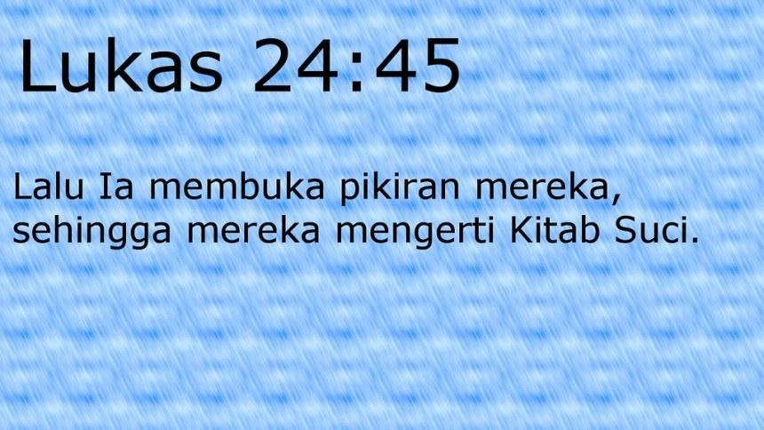 lukas 24 45