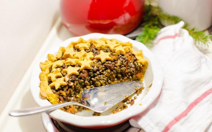 Lentil and Vegetable Pie