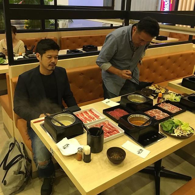 Shinichiro Matsufuji and Eiji Kamada