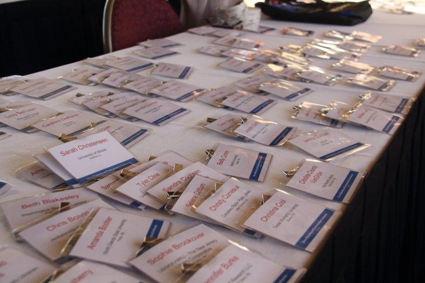 LMCC16 Registration name badges
