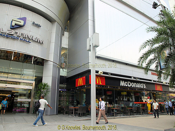 McDonalds next to the Platinum Fashion Mall in 2013  Phetc      Flickr     Rachathewi McDonalds next to the Platinum Fashion Mall in 2013   Phetchaburi road  Pratunam  Rachathewi