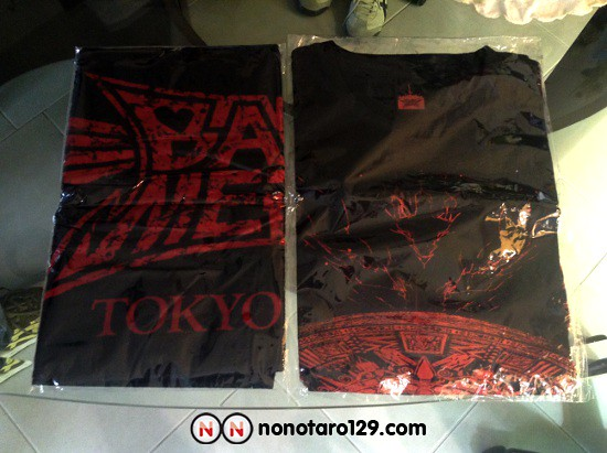 babymetal tokyo dome towel and t shirt 01