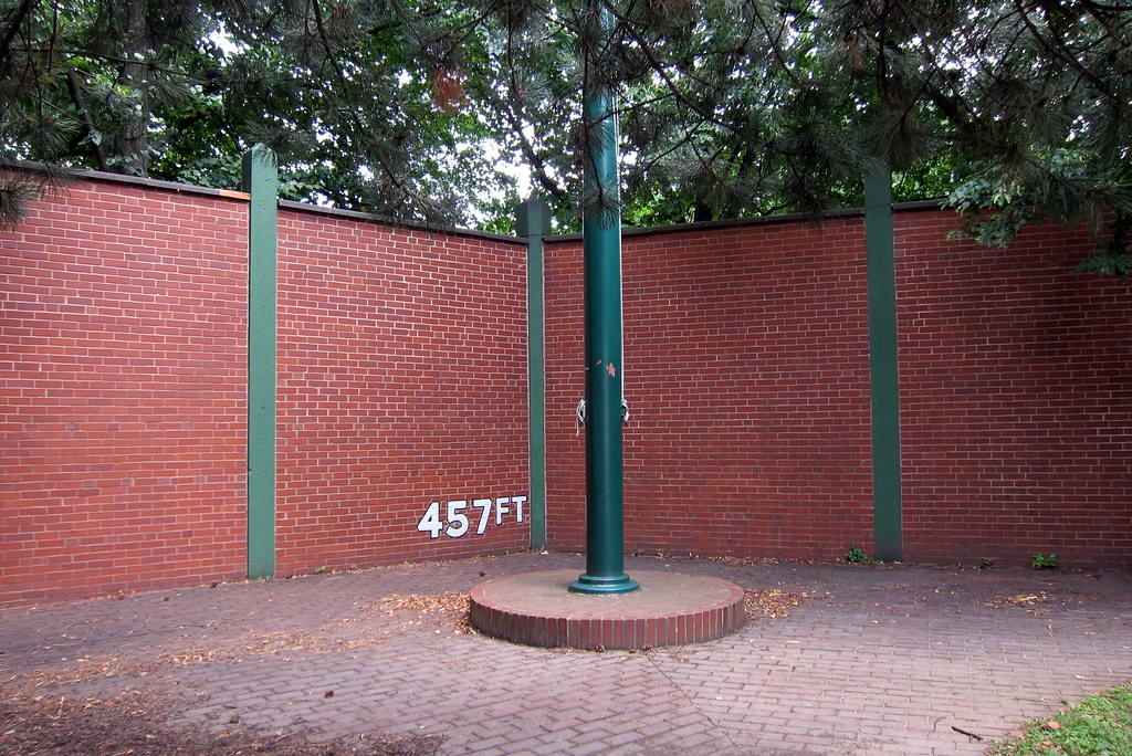 Pittsburgh Oakland Forbes Field Outfield Wall A