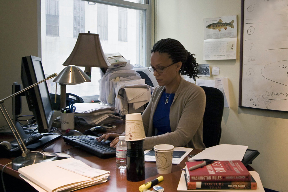 Melissa Harris Perry At The Maddow Desk Rachel Maddow