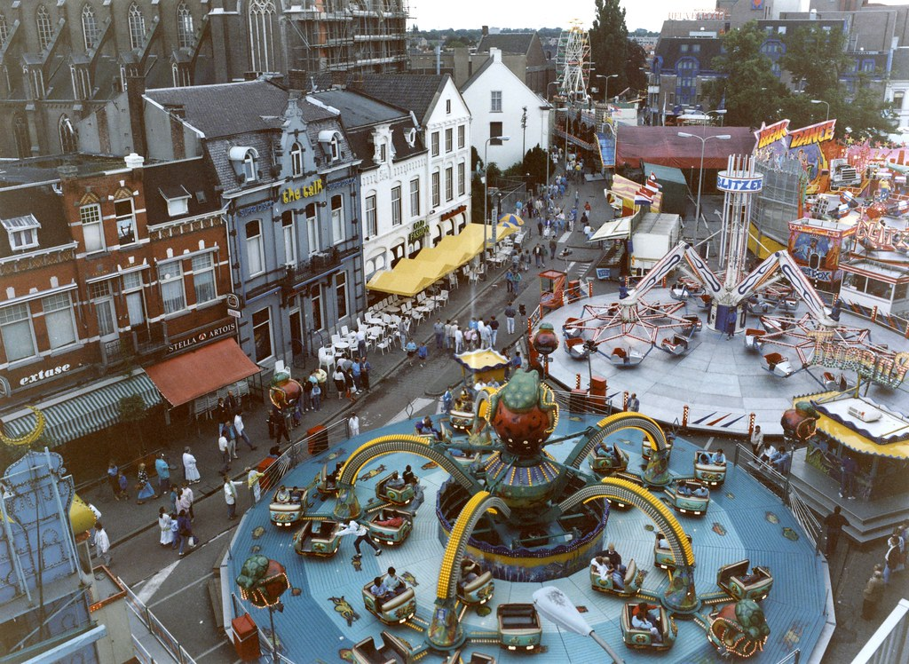Kermis Op De Heuvel 1987 Regionaal Archief Tilburg Flickr