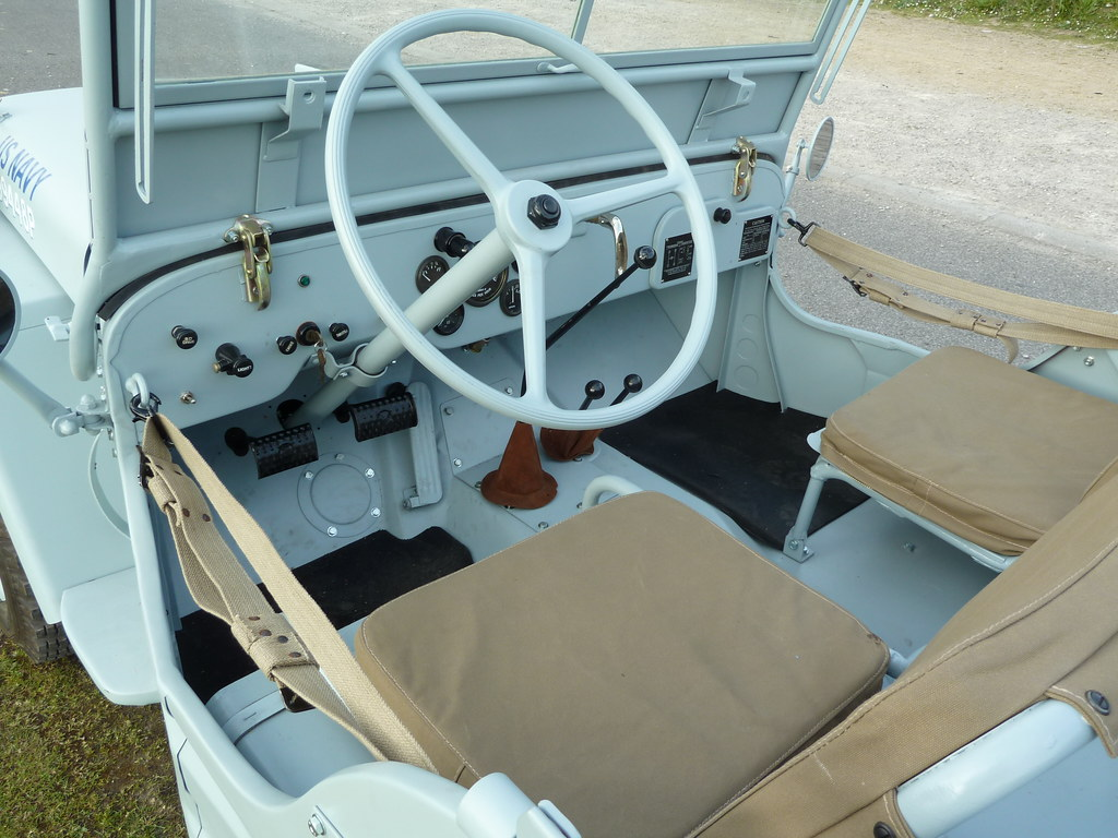 NHL 843   1943 Willys MB Jeep   Interior   homer    simpson   Flickr     NHL 843   1943 Willys MB Jeep   Interior   by homer