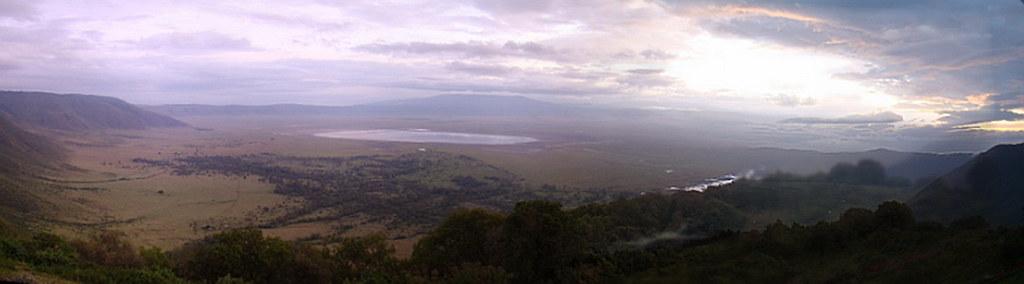 Crater area de Ngorongoro paisajes Tanzania 07
