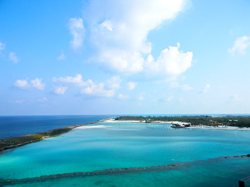 Castaway Cay view from the Disney Dream