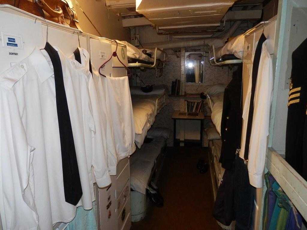 Crew Quarters Royal Yacht Britannia The Crew Quarters