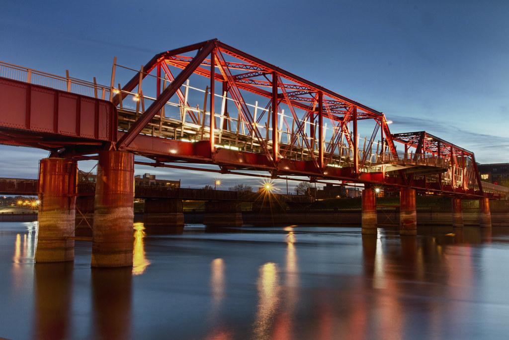 Union Railroad Bridge Des Moines IA The Old Union Rail Flickr