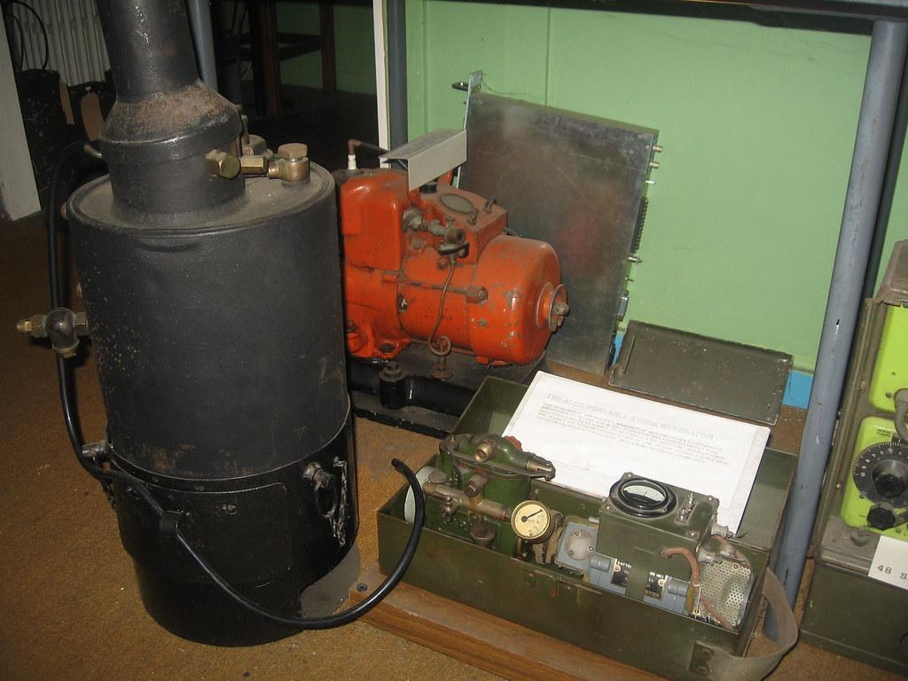 Wood Steam Turbine Generator